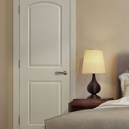 Doors Traditional Masonite 2 Panel Roman White
