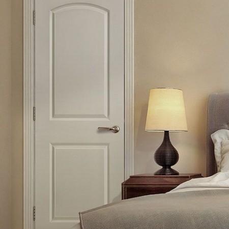 Doors Traditional Masonite 2 Panel Roman White