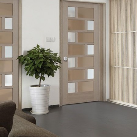 Doors Contemporary Masonite Le Chateau