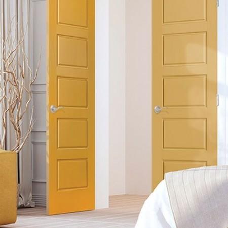 Doors Contemporary Masonite Riverside Orange