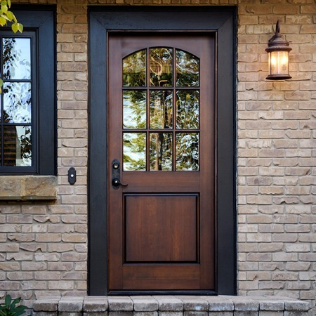 Doors Contemporary Simpson 9 Pane Arched