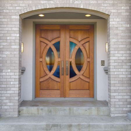 Doors Contemporary Simpson Double Decorative