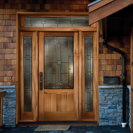 Doors Contemporary Simpson Side Panes
