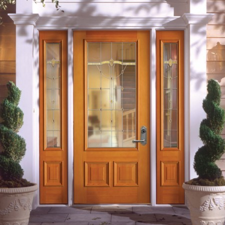Doors Contemporary Simpson Single Large Pane
