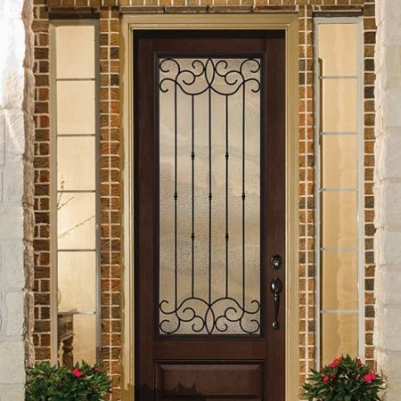 Doors Contemporary Thermatru Classic Mahogany Borrassa