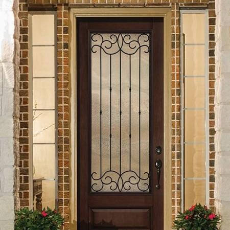 Doors Contemporary Thermatru Classic Mahogany Borrassa