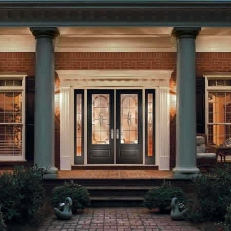 Doors Contemporary Thermatru Classic Double Doors