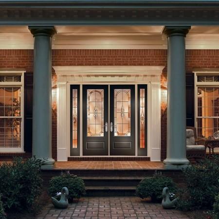 Doors Contemporary Thermatru Classic Double Doors