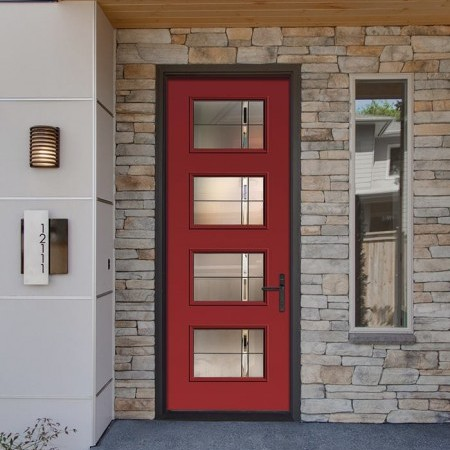 Doors Contemporary Thermatru Pulse Ari Axis
