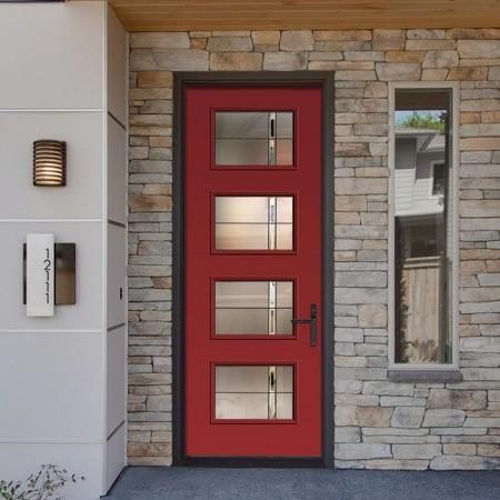 Doors Contemporary Thermatru Pulse Ari Axis