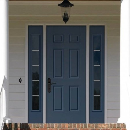 Doors Contemporary Thermatru Smooth Star Sidelites